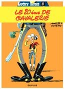 Couverture Le 20ème de cavalerie - Lucky Luke, tome 27