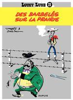 Couverture Des barbelés sur la prairie - Lucky Luke, tome 29