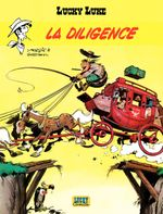 Couverture La Diligence - Lucky Luke, tome 32