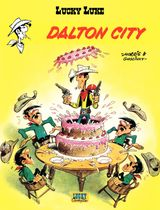Couverture Dalton City - Lucky Luke, tome 34