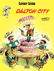 Couverture Dalton City - Lucky Luke, tome 34