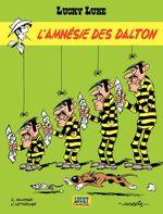 Couverture L'Amnésie des Dalton - Lucky Luke, tome 60