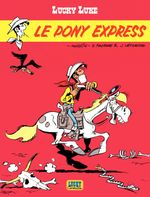 Couverture Le Pony Express - Lucky Luke, tome 59
