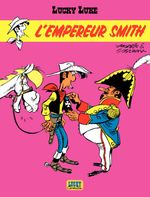 Couverture L'Empereur Smith - Lucky Luke, tome 45
