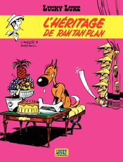 Couverture L'Héritage de Rantanplan - Lucky Luke, tome 41