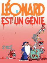 Couverture Léonard est un génie - Léonard, tome 1