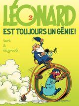 Couverture Léonard est toujours un génie ! - Léonard, tome 2