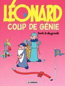 Couverture Coup de génie - Léonard, tome 8