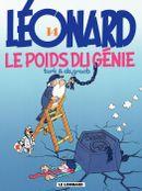 Couverture Le Poids du génie - Léonard, tome 14