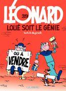 Couverture Loué soit le génie - Léonard, tome 39
