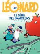 Couverture Le Génie des grandeurs - Léonard, tome 42