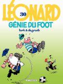 Couverture Génie du foot - Léonard, tome 30