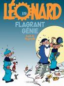 Couverture Flagrant génie - Léonard, tome 19
