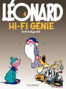 Couverture Hi-Fi génie - Léonard, tome 4