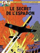 Couverture Le Secret de l'Espadon (1/3) - Blake et Mortimer, tome 1