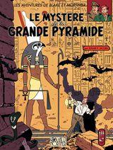 Couverture Le Mystère de la grande pyramide (1/2) - Blake et Mortimer, tome 4