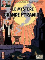 Couverture Le Mystère de la grande pyramide (2/2) - Blake et Mortimer, tome 5