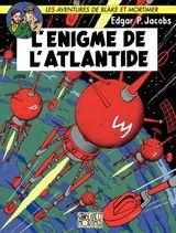 Couverture L'Énigme de l'Atlantide - Blake et Mortimer, tome 7