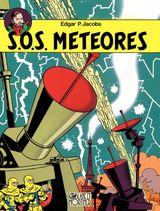 Couverture S.O.S. Météores - Blake et Mortimer, tome 8