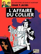Couverture L'Affaire du collier - Blake et Mortimer, tome 10