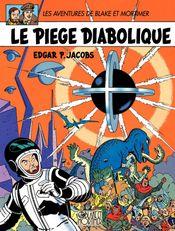 Couverture Le Piège diabolique - Blake et Mortimer, tome 9