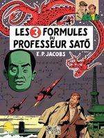 Couverture Les 3 Formules du professeur Satō (1/2) - Blake et Mortimer, tome 11