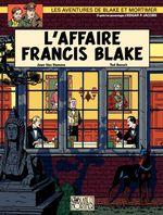 Couverture L'Affaire Francis Blake - Blake et Mortimer, tome 13