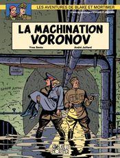 Couverture La Machination Voronov - Blake et Mortimer, tome 14