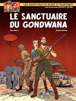 Couverture Le Sanctuaire du Gondwana - Blake et Mortimer, tome 18