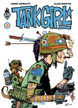 Couverture Tank Girl, tome 1