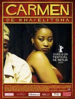 Affiche Carmen de Khayelitsha