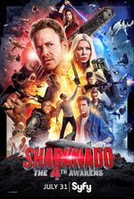 Affiche Sharknado 4 : The 4th Awakens