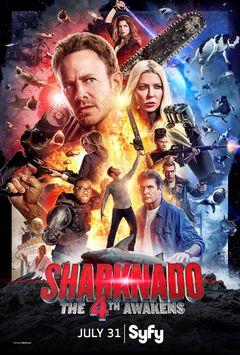 Affiche Sharknado 4 : The 4th Awakens