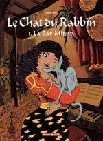 Couverture La Bar-mitsva - Le Chat du rabbin, tome 1