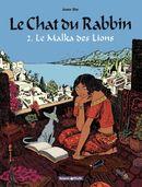 Couverture Le Malka des lions - Le Chat du rabbin, tome 2
