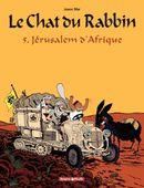 Couverture Jérusalem d'Afrique - Le Chat du rabbin, tome 5