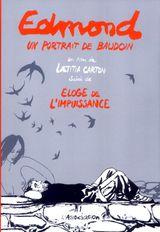 Couverture Edmond, un portrait de Baudoin