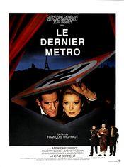 Affiche Le Dernier Métro