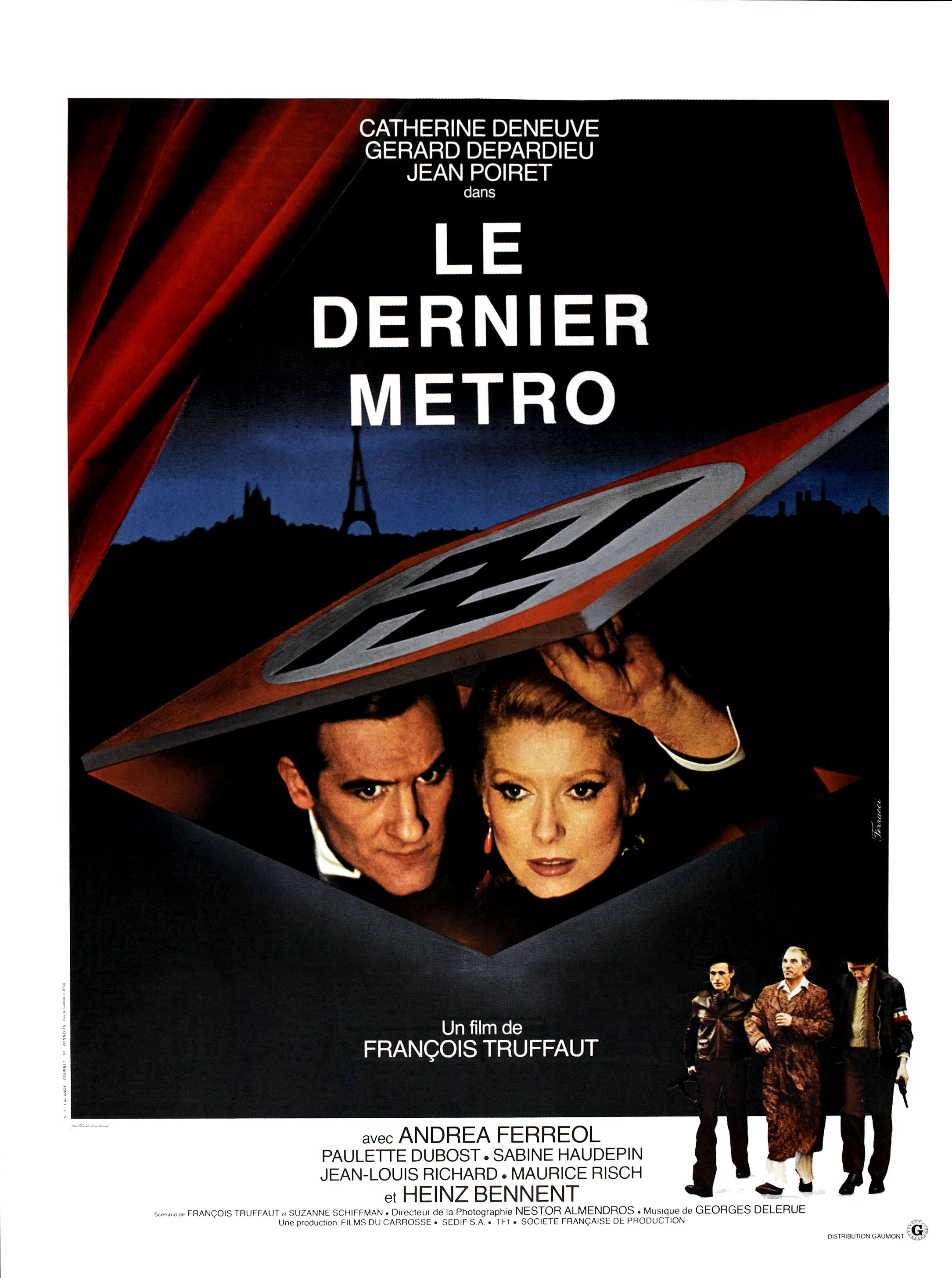 affiche le dernier mtro - Chambre Verte Truffaut