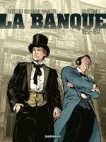 Couverture La Banque - Tome 5 - Les Chéquards de Panama