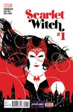 Couverture Scarlet Witch (2015 - Present)