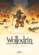Couverture Les Flammes de Wffnïr (1/2) - Wollodrïn, tome 7