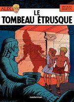 Couverture Le Tombeau étrusque - Alix, tome 8