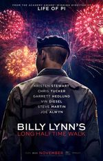 Affiche Billy Lynn's Long Halftime Walk