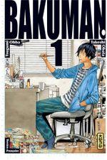 Couverture Bakuman, tome 1