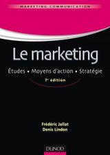 Couverture Le marketing - 7e éd.
