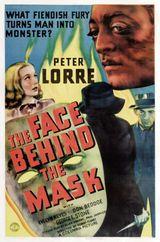 Affiche Le Visage derrière le masque