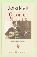Couverture Chamber music