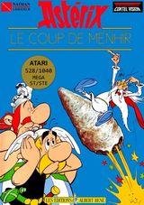 Jaquette Astérix : Le Coup du menhir