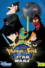 Affiche Phinéas et Ferb : Star Wars